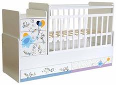 Кроватка Polini Simple 1100 Слоник на шаре / Панды / Пряничный домик / Прогулка
