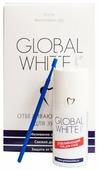 Гель отбеливающий для зубов Global White 15ml + микрощетка 4605370004212