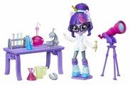 Набор с мини-куклой My Little Pony Equestria Girls Научная лаборатория Твайлайт Спаркл, 12 см, B9483