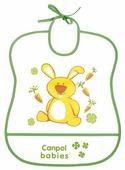 Canpol Babies Нагрудник Soft Plastic bib