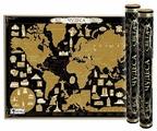 Smart Gift Стираемая карта мира Чудеса света Black Edition А1 84х59 см