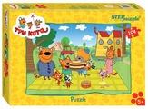 Пазл Step puzzle СТС Три кота (82156), 104 дет.