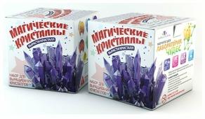 Набор для исследований Инновации для детей Магические кристаллы. Малый набор