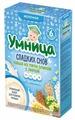 Каша Умница Сладких снов молочная 5 злаков с липой (с 6 месяцев) 200 г
