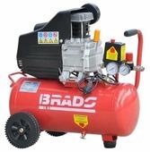 Компрессор масляный Brado IBL25A, 25 л, 1.5 кВт