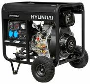 Дизельный генератор Hyundai DHY-8000 LE (6000 Вт)