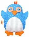 Игрушка-грелка Мякиши Пингвин 22 см