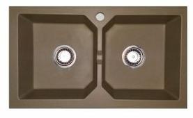 Врезная кухонная мойка БелЭворс BRAVO DUO 75.5х43.5см полимер