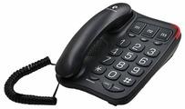 Проводной телефон TeXet TX-214 (черный)