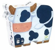 Пазл DJECO Коровы на ферме (07205), 24 дет.