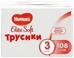 Huggies Elite Soft трусики 3 (6-11 кг) 108 шт.