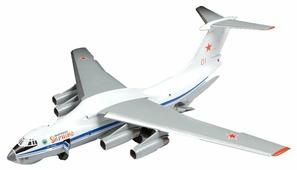 Сборная модель ZVEZDA Военно-транспортный самолёт Ил-76МД (7011) 1:144