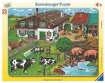 Пазл Ravensburger Животные на ферме (06618), 33 дет.
