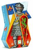 Пазл DJECO Рыцарь и дракон (07223), 36 дет.