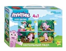 Набор пазлов Step puzzle Мельница Лунтик (70153)