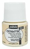 Краски Pebeo Ceramic Белый Античный 025032 1 цв. (45 мл.)