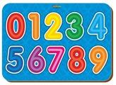 Рамка-вкладыш Woodland Изучаем цифры (091105), 9 дет.