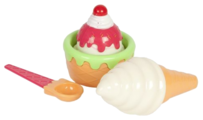 Набор продуктов с посудой Mary Poppins Ванильное мороженое 453054