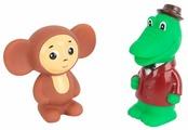 Набор для ванной Играем вместе Чебурашка и Крокодил Гена (101R-PVC)