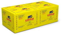 Экструдированный пенополистирол (XPS) URSA XPS N-III-G4 125х60см 100мм 4 шт