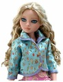 Tonner Жакет Ennui Blue Satin Jacket для кукол Ellowyne