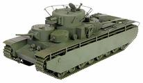 Сборная модель ZVEZDA Советский тяжёлый танк Т-35 (3667) 1:35
