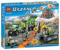 Конструктор BELA Urban 10641 База исследователей вулканов