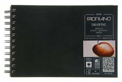 Скетчбук для зарисовок Fabriano Drawingbook 21 х 14.8 см (A5), 160 г/м², 60 л.