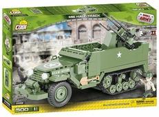 Конструктор Cobi Small Army World War II 2499 Зенитная установка M16 Half-Track