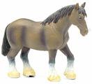 Фигурка Mojo Farmland Лошадь клейдесдальской породы 387070