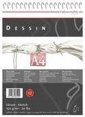 Скетчбук для зарисовок Hahnemuhle Dessin 29.7 х 21 см (A4), 150 г/м², 25 л.