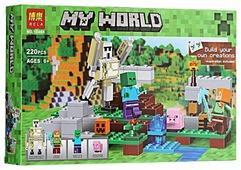 Конструктор BELA My World 10468 Железный голем