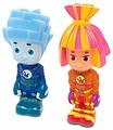 Набор для ванной Играем вместе Симка и Нолик (155R-PVC)