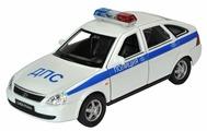 Легковой автомобиль Welly Lada Priora Полиция (43645PB)