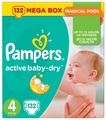Pampers подгузники Active Baby-Dry 4 (8-14 кг) 132 шт.