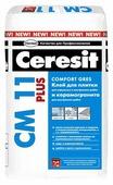 Клей для керамогранита усиленной фиксации Ceresit CM 11 Plus 25 25