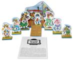 Десятое королевство Театр настольный кукольный Козленок который умел считать до 10 (01374)