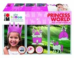 Набор для творчества Marabu Glas Tattoo Princess World 040800081 2 цв. (100 мл.)