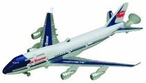 Самолет Dickie Toys реактивный на леске (3343004) 25 см