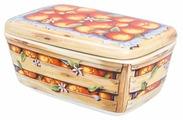 """Elan gallery Банка для печенья и конфет """"Апельсины"""" 800 мл"""