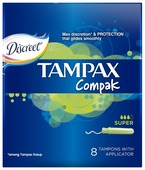 TAMPAX тампоны Compak Super