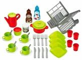 Набор продуктов с посудой Ecoiffier и сушилкой 2619