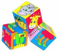 Кубики-пазлы Мякиши Собираем по одежке