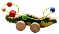 Каталка-игрушка Мир деревянных игрушек Крокодил (Д362)