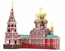 3D-пазл CubicFun Рождественская церковь (MC191h), 135 дет.