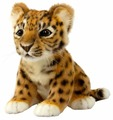 Мягкая игрушка Hansa Детёныш леопарда 17 см