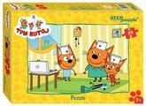 Пазл Step puzzle СТС Три кота (91150), 35 дет.