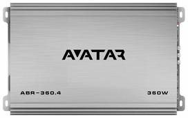 Автомобильный усилитель Avatar ABR-360.4