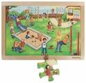 Рамка-вкладыш Beleduc Детский сад (12001), 24 дет.