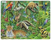 Рамка-вкладыш Larsen Южно-американские тропики (FH10), 70 дет.